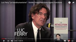 Débat avec Luc Ferry sur le transhumanise lors d'une soirée cross-fonctions d'Agora Fonctions