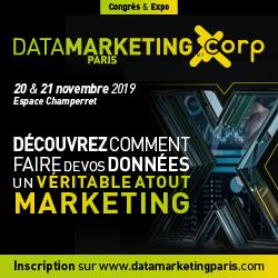 Data Marketing Paris 20 & 21 novembre 2019